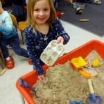 Sand table cookies