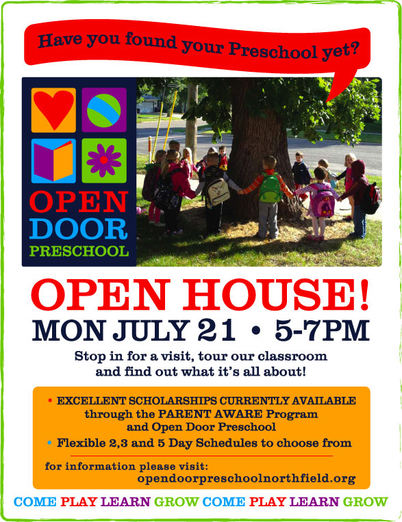 July-open-house-poster